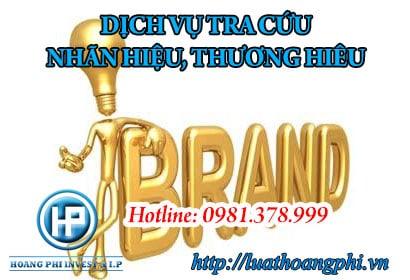 Dịch vụ tra cứu nhãn hiệu, thương hiệu