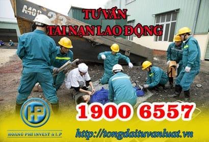 Tổng đài tư vấn tai nạn lao động trực tuyến 1900 6557