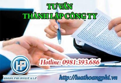 dịch vụ thành lập công ty tại Hà Nội