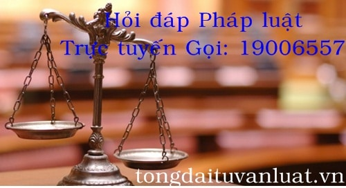Hỏi đáp pháp luật trực tuyến miễn phí