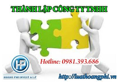 thành lập Công ty trách nhiệm hữu hạn
