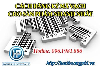 đăng ký mã vạch sản phẩm online