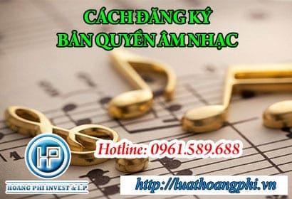 đăng ký bản quyền âm nhạc