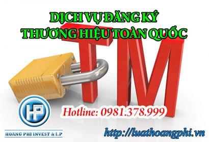 đăng ký thương hiệu hàng hóa